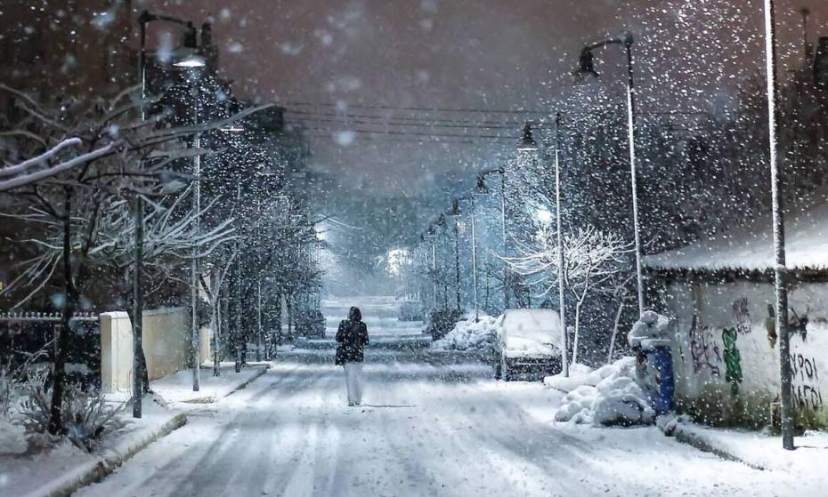 «Λέανδρος»: Πολικές θερμοκρασίες και χιόνια και στην Αττική