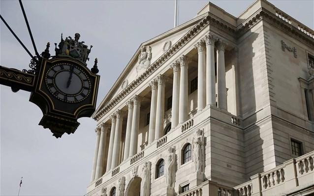 Απαισιοδοξία της BoE για την πορεία της βρετανικής οικονομίας