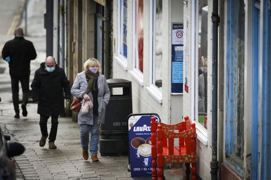 Οριακή αύξηση του πληθωρισμού στη Βρετανία το Δεκέμβριο