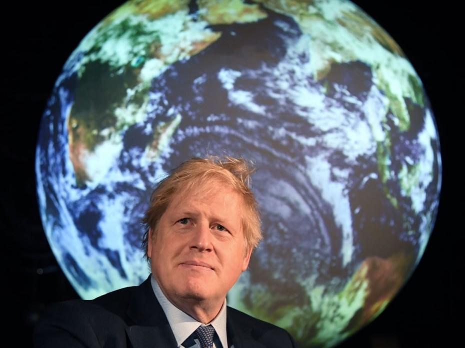 Προβληματισμός Τζόνσον για την κλιματική αλλαγή