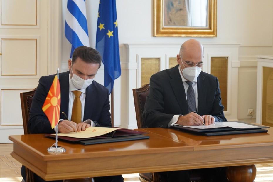 Εκ νέου ο Δένδιας υπέρ της ένταξης της Βόρειας Μακεδονίας στην ΕΕ
