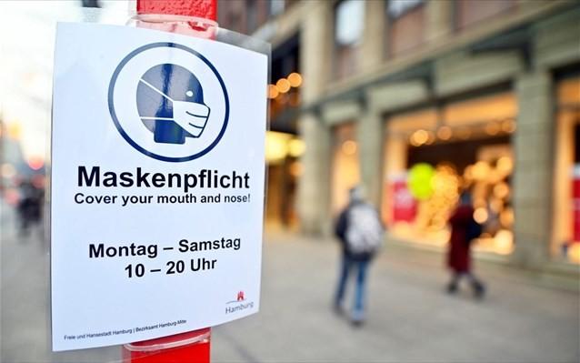 Ανησυχία στη Γερμανία για τον κορονοϊό, παρά το lockdown