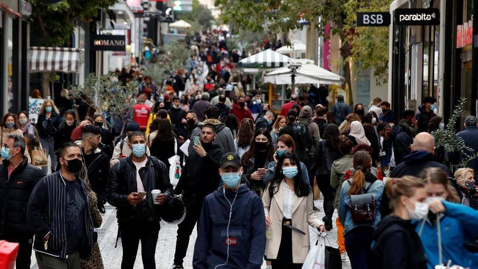 Με το... χρονόμετρο οι αγορές μετά το συνωστισμό στους εμπορικούς δρόμους