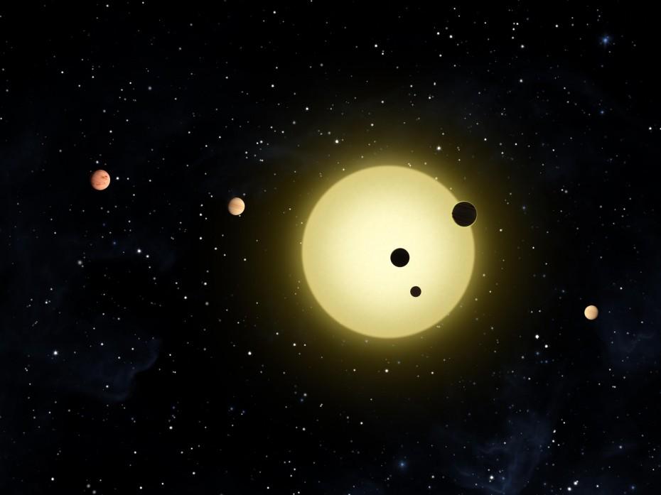 NASA: Ανακαλύφθηκε ασυνήθιστο αστρικό σύστημα με έξι άστρα και έξι εκλείψεις