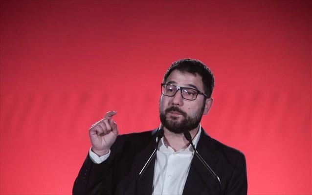 Ο Ηλιόπουλος ζητά στήριξη της οικονομίας για να αποφύγουμε λουκέτα και απολύσεις