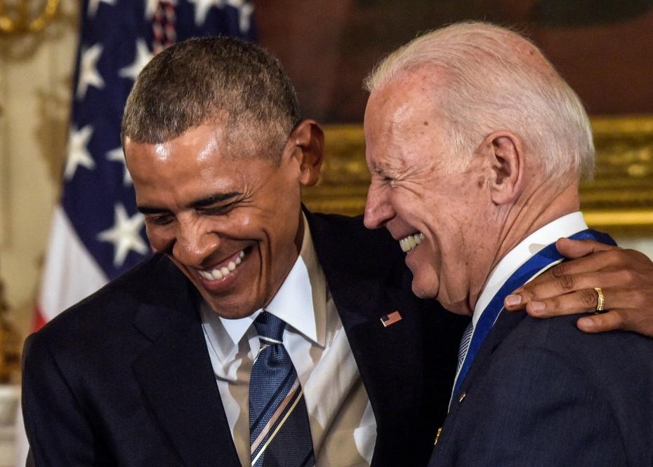 Μπ. Ομπάμα σε Τζ. Μπάιντεν: «Συγχαρητήρια στο φίλο μου - Αυτή είναι η ώρα σου»