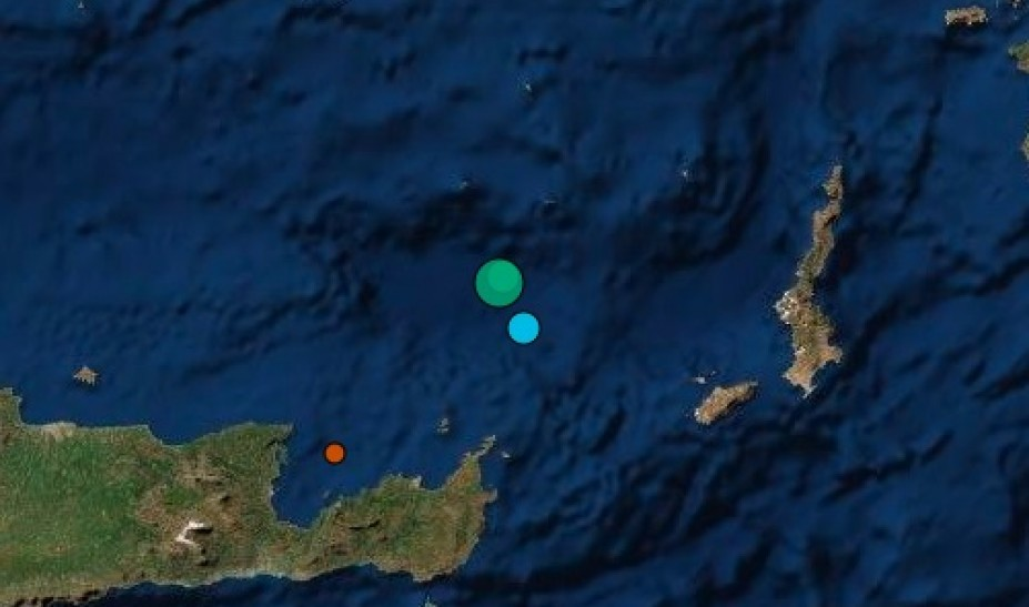 Σεισμός 4,3 Ρίχτερ κοντά στη Σητεία