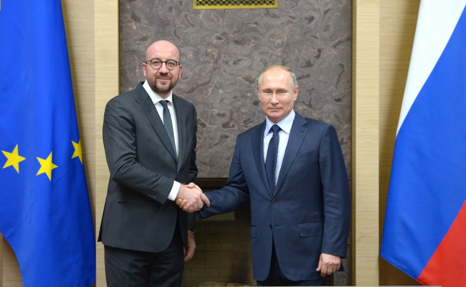 Υπόθεση Ναβάλνι: Τηλεφωνική επικοινωνία Σαρλ Μισέλ και Βλαντιμίρ Πούτιν