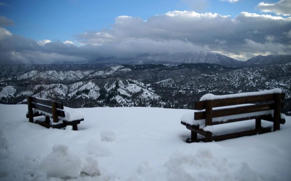 Χιόνια και τσουχτερό κρύο φέρνει ο «Λέανδρος»