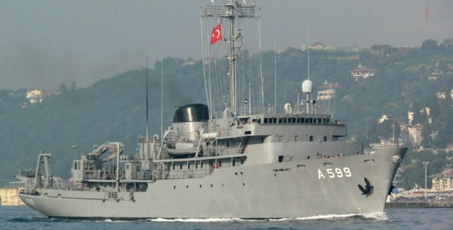 Διάβημα Αθήνας για το τουρκικό υδρογραφικό «Τσεσμέ»