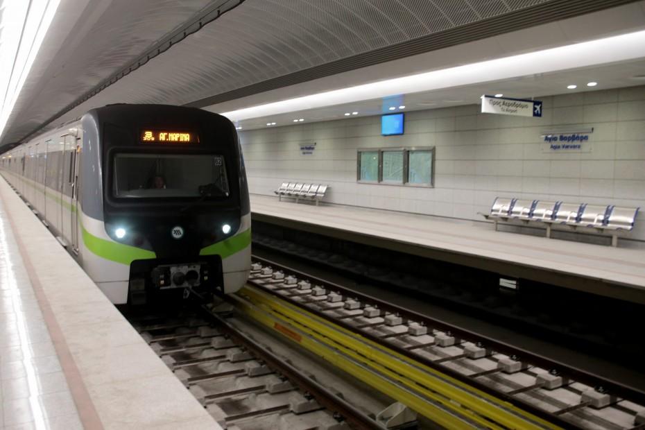 Θετικός στον κορονοϊό ηλεκτροδηγός του Μετρό - Νοσηλεύεται διασωληνωμένος