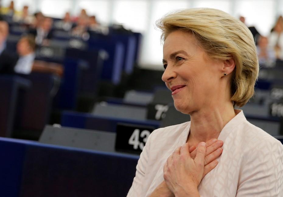 Αισιοδοξία Φον ντερ Λάιεν: Έμβολιασμός του 70% των Ευρωπαίων ως το τέλος του καλοκαιριού