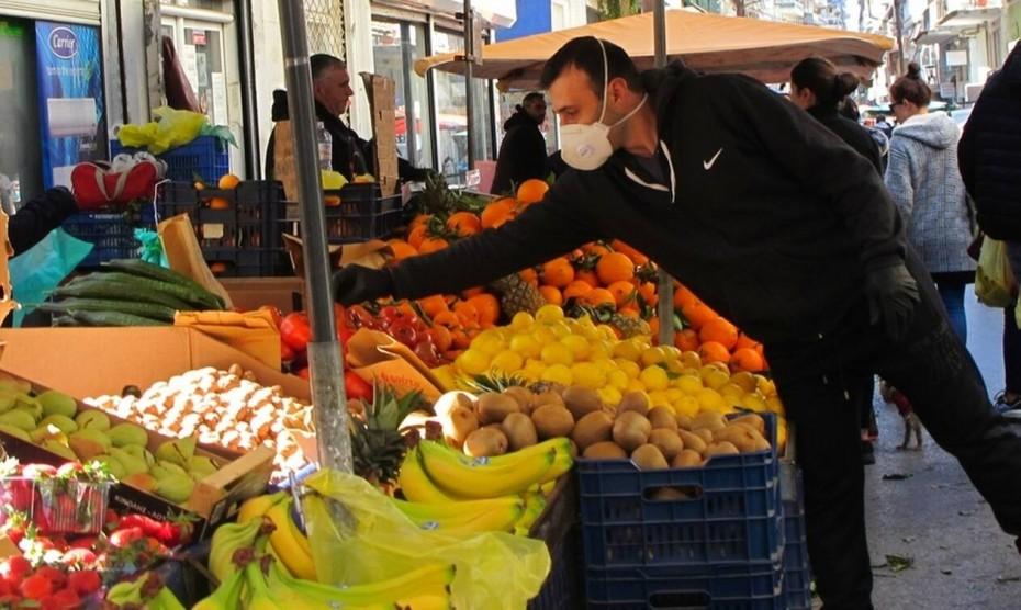 Ανοιχτές ξανά από Σάββατο οι λαϊκές αγορές