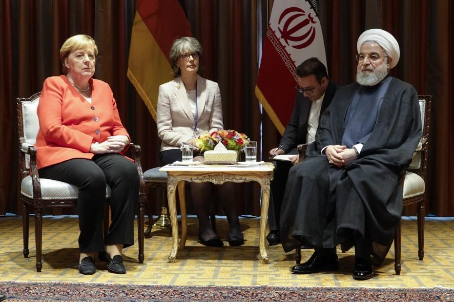 «Διπλωματική λύση» για το πρόγραμμα πυρηνικής ενέργειας με το Ιράν ζητά η Α. Μέρκελ