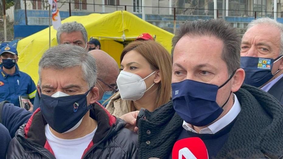 Θεσσαλία: Κατάθεση 300.000 ευρώ σε κάθε σεισμόπληκτο δήμο ανακοίνωσε ο Στ. Πέτσας