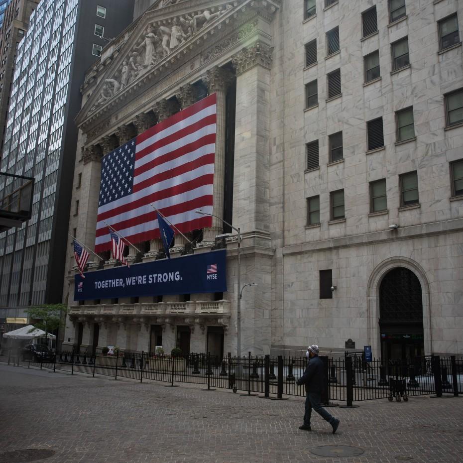 Wall Street: Νέο άλμα για το 10ετές, οριακές κινήσεις στο ταμπλό