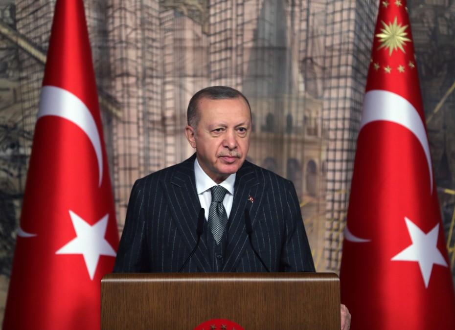 Νέο παραλήρημα Ερντογάν: «Δεν εμπιστεύομαι τη Νότια Κύπρο - Είναι ψεύτες»