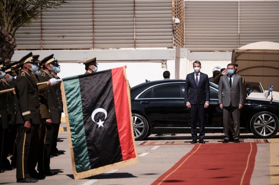 Κ. Μητσοτάκης από Λιβύη: Θέλουμε ακύρωση παράνομων εγγράφων που εμφανίστηκαν ως διακρατικές συμφωνίες