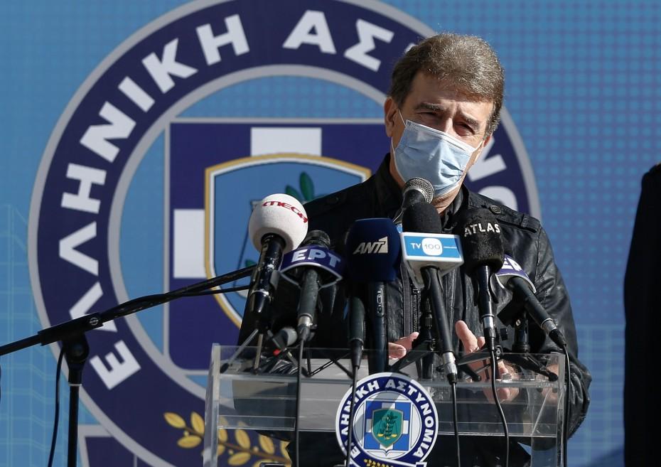 Θεσσαλονίκη: Σύσκεψη υπό τον Μ. Χρυσοχοΐδη στη Διεύθυνση Αστυνομίας Φλώρινας