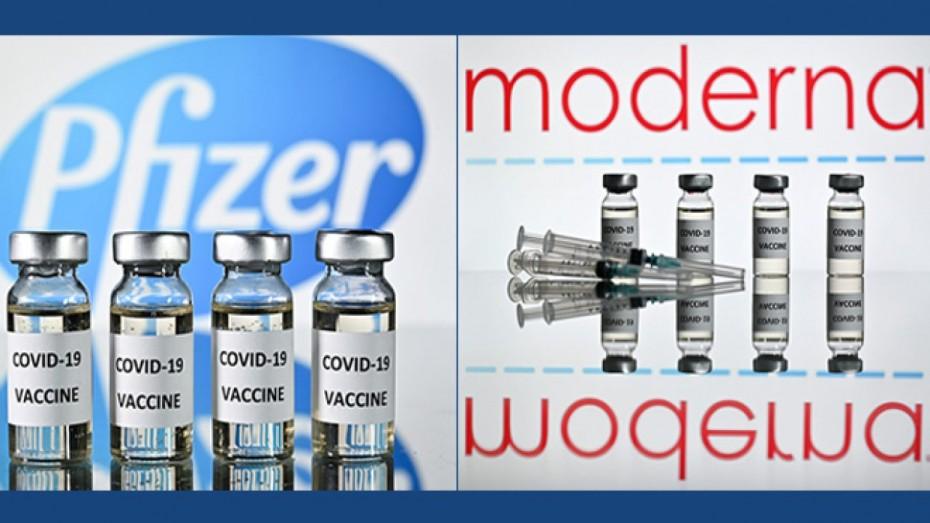 ΗΠΑ: Μικρότερος κατά 94% ο κίνδυνος νοσηλείας για τους εμβολιασμένους με Pfizer ή Moderna ηλικίας 65+