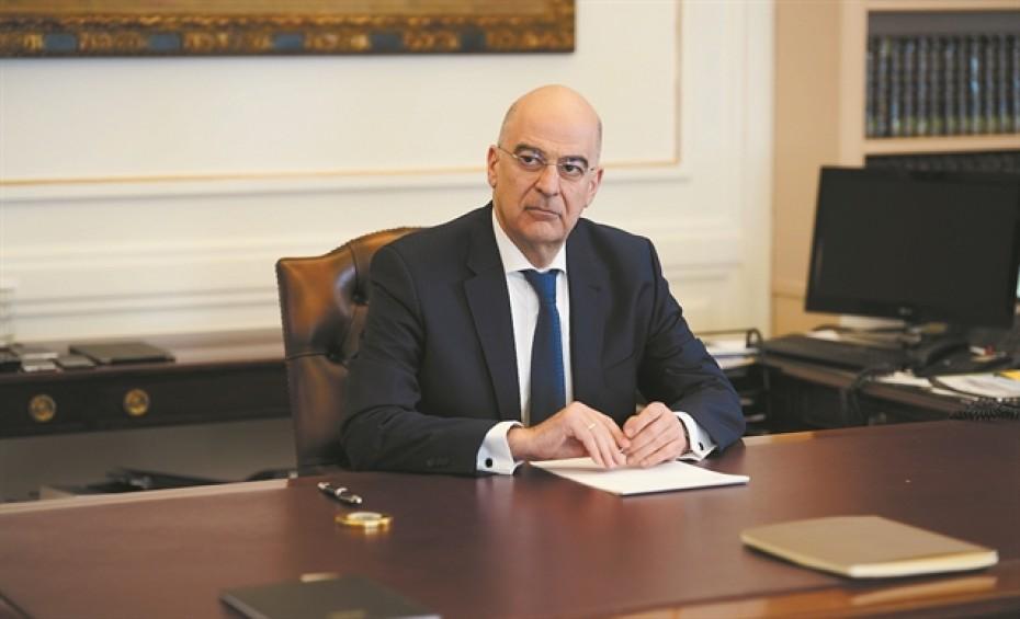 N. Δένδιας: Για να προχωρήσουμε πρέπει η Τουρκία να αποδεχθεί το Διεθνές Δίκαιο