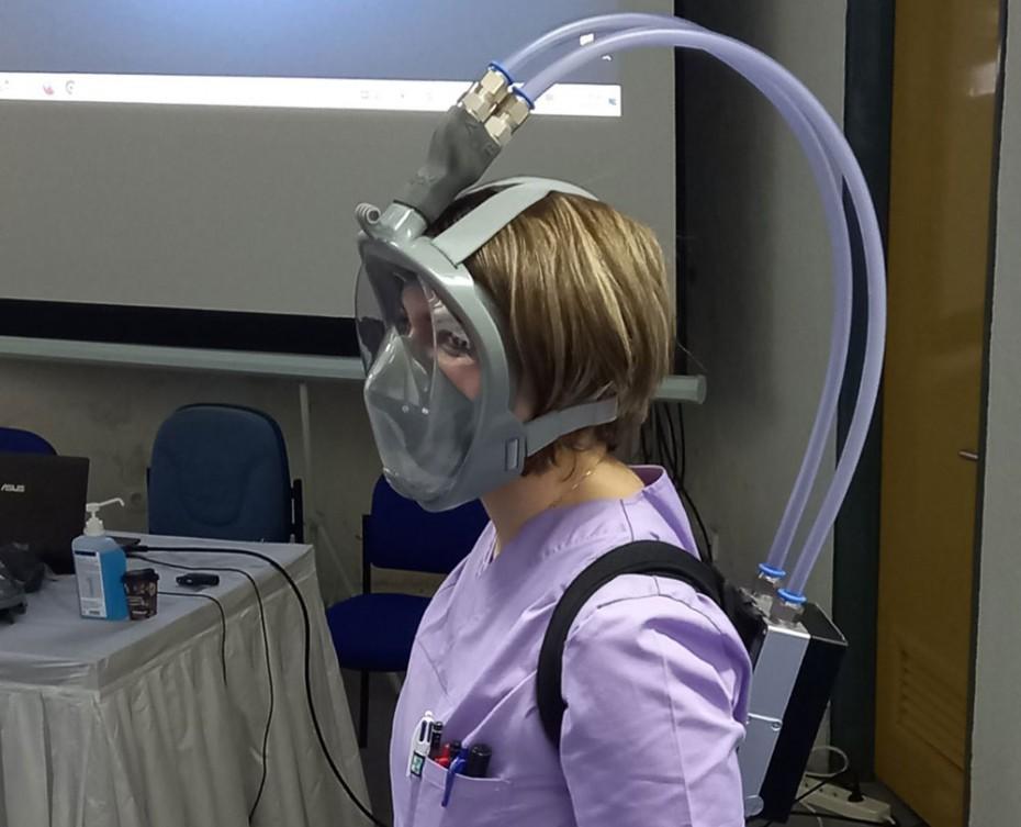 Στο νοσοκομείο της Πτολεμαΐδας η πρώτη μικροβιοκτόνος μάσκα κατά του κορονοϊού